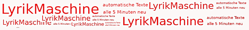 LYrikmaschine